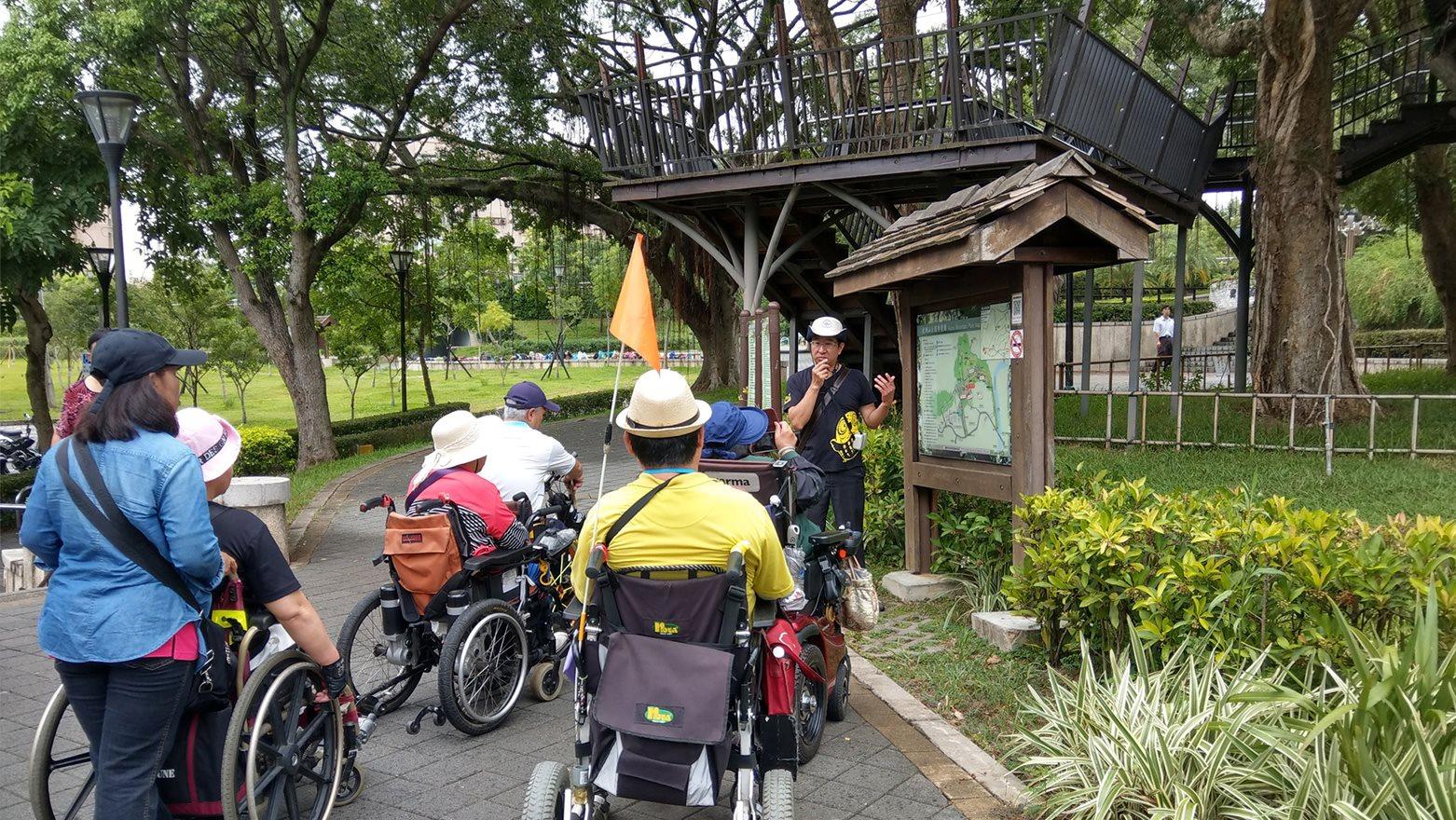 虎頭山公園資訊易讀體驗活動-導覽解說